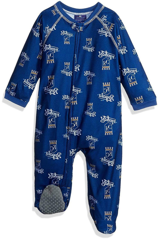 MLB Kansas City Royals Infant Footie PJs, 18 Mos