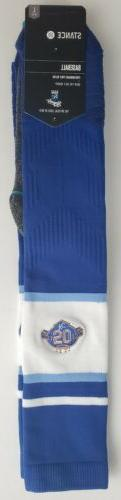 Stance MLB Kansas City Royals OTC Socks Blue/White Large 9-1