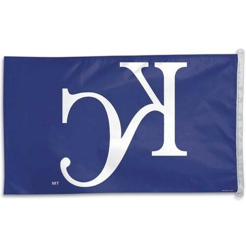 MLB Kansas City Royals WCR25517061 Team Flag, 3' x 5'