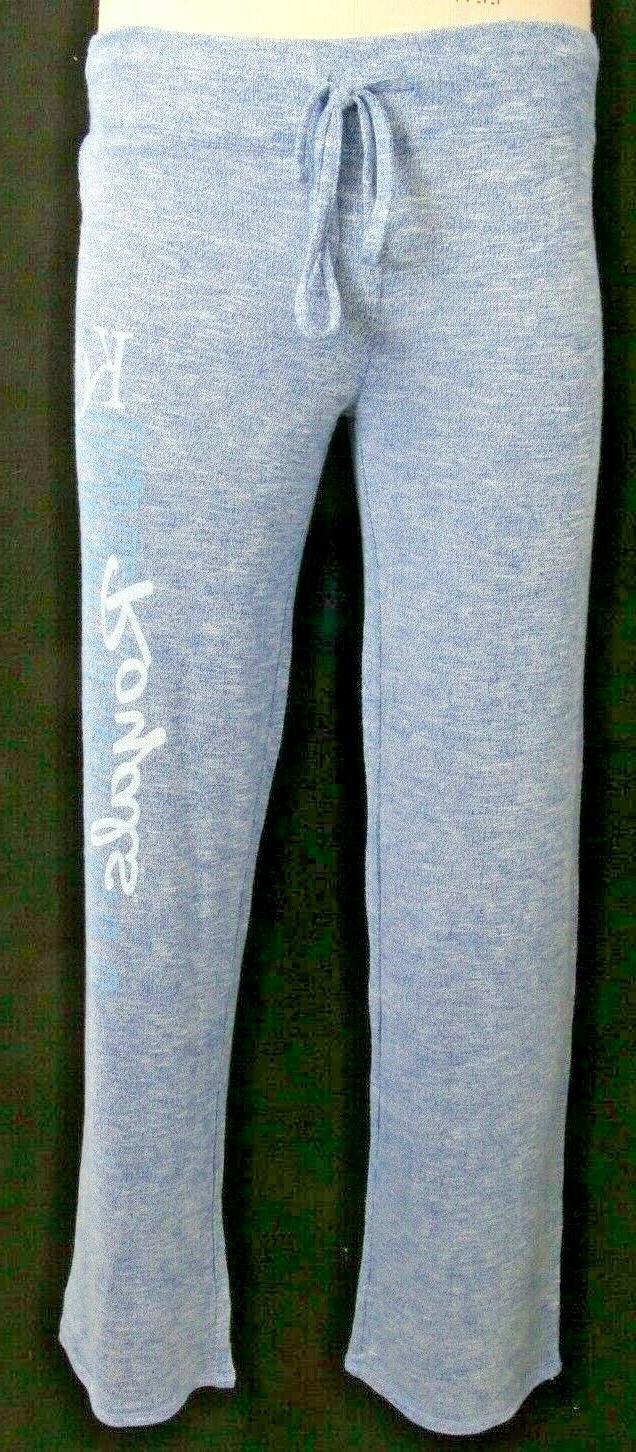 NEW Concept Sports Sleepwear Kansas Grey Sweatpants M