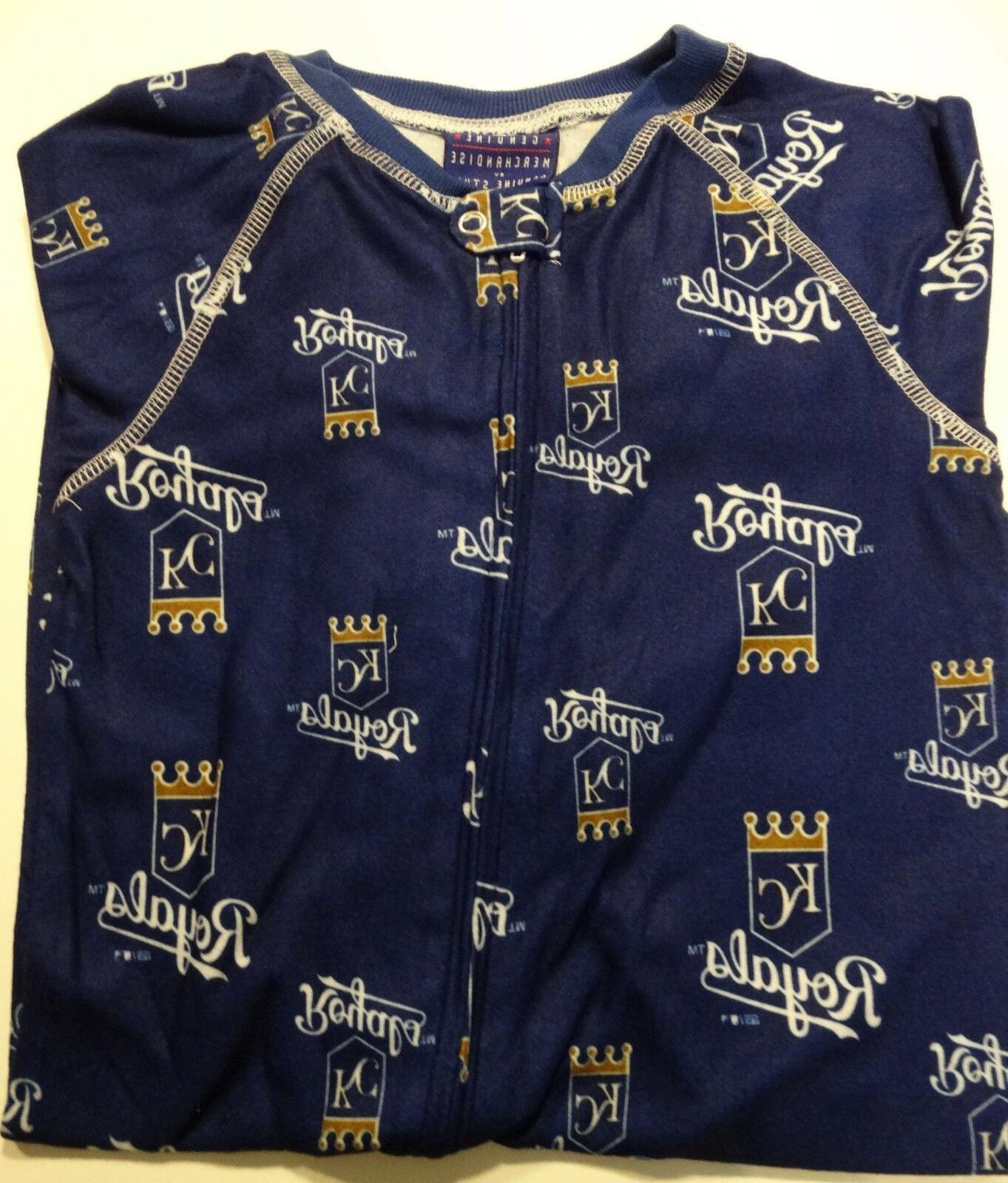 NWT MLB City Royals 24 Navy Sleepwear