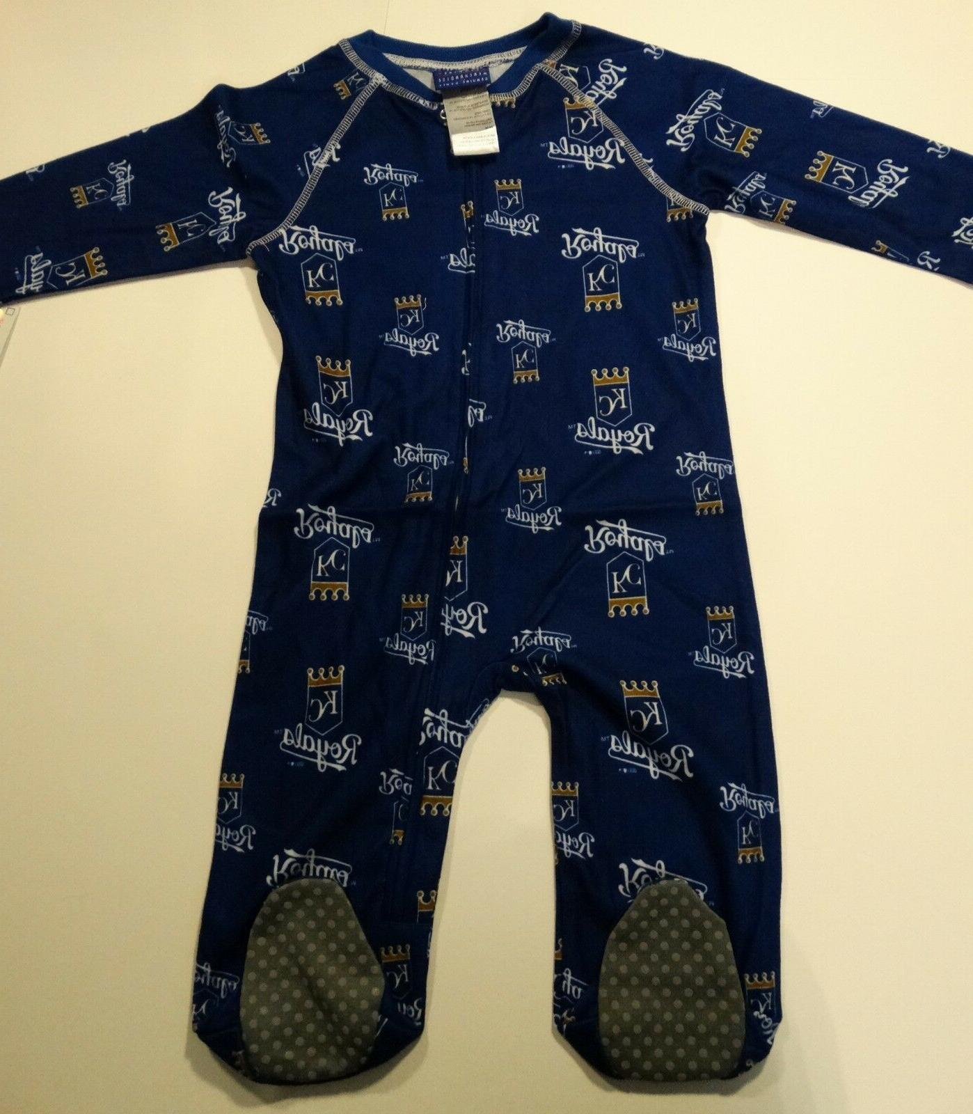 nwt mlb kansas city royals infant 24