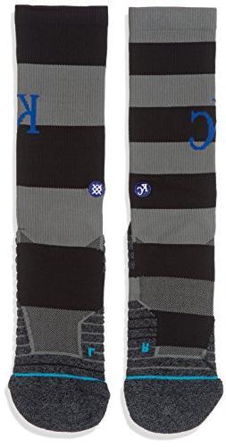 Stance Men's Royals Nightshade Socks Black L
