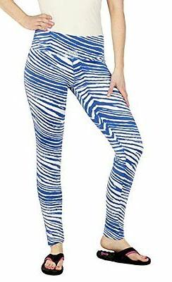 Zubaz MLB Kansas City Royals Team Color Tiger Print Leggings