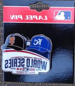 Lapel Pin MLB World Series 2014 Kansas City Royals - San Fra