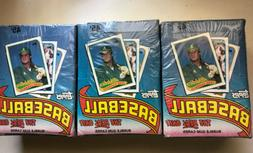 Lot Of 3 1989 Topps Baseball Sealed Wax Boxes - 108 Total Pa