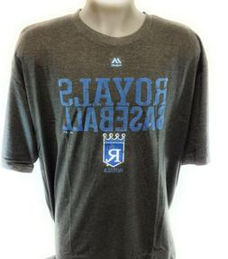 Mens Majestic MLB Kansas City Royals Cooperstown Collection