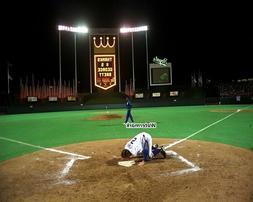 MLB 1993 Kansas City Royals George Brett Last Home Game Colo