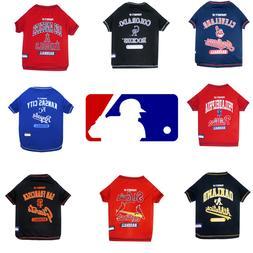 mlb baseball dog cat t shirt mlb