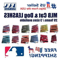 Pets First MLB Dog Leashes, Heavy Duty and Licensed. 29 Team