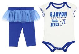 Outerstuff MLB Infant Kansas City Royals Little Cutie Creepe