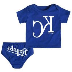 Outerstuff MLB Infants Kansas City Royals Mini Uniform Tee S