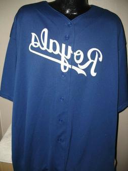 MLB Kansas City Royals Baseball Cool Base Jersey Shirt  Mens