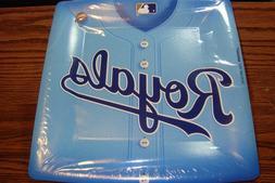"""MLB * KANSAS CITY ROYALS Baseball Party 10 1/2"""" in. Plates"""