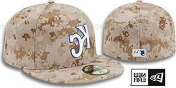 NEW ERA MLB KANSAS CITY ROYALS CAMO MARPAT BASEBALL CAP HAT