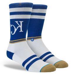 STANCE MLB Kansas City Royals Diamond Crew Socks Men's Large