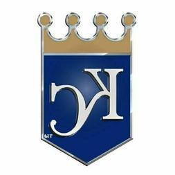 MLB Kansas City Royals Die Cut Color Automobile Emblem  **FR