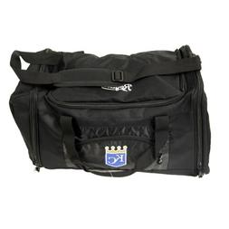 Northwest MLB Kansas City Royals Duffel Bag Black 21  14.5