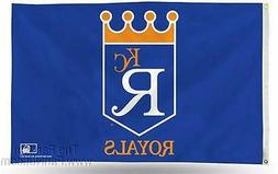 Official MLB Kansas City Royals Flag Banner 837389