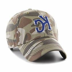 MLB Kansas City Royals '47 Brand Hat Women's Sparkle Camo Cl