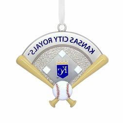 MLB Kansas City Royals™ Home Plate Metal Hallmark Ornament