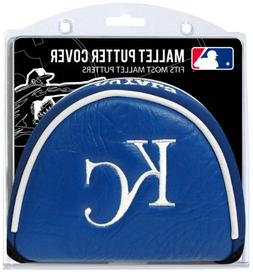 MLB Kansas City Royals Mallet Putter Cover, Silver