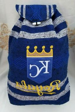 MLB Kansas City ROYALS Mexican backpack handmade aztec tote