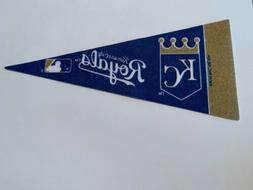 "MLB Kansas City Royals Mini Pennant Flag 4""x9"" NEW Baseball"
