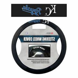MLB Kansas City Royals Poly-Suede Steering Wheel Cover