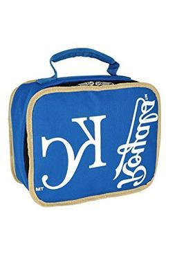 MLB Kansas City Royals Sacked Lunchbox, 10.5-Inch, Royal