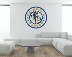 MLB Kansas City Royals Vinyl Wall Decal Baseball Sport Stick