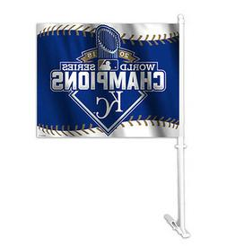 MLB Kansas City Royals World Series Champions Car Flag Windo