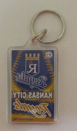 MLB Key Chains -  Kansas City Royals Plastic Keychain