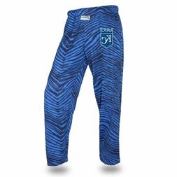 MLB Men's Kansas City Royals Tone On Tone Zebra Pants