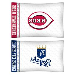 MLB BASEBALL PILLOWCASE - Sports Team Logo Microfiber Pillow