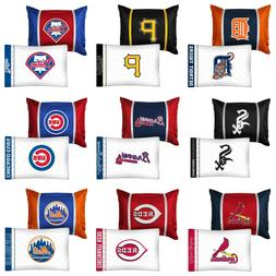 nEw 2pc MLB BASEBALL PILLOWCASE PILLOW SHAM SET - Sports Tea