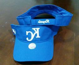 New Adult MLB Kansas City Royals Sun Visor Cap Hat -PMJS