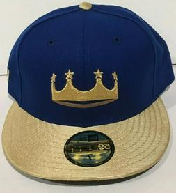 NEW FITTED 2018 KANSAS CITY ROYALS TATC TURN AHEAD ON FIELD
