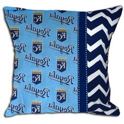 NEW Kansas City Royals MLB Baseball Decorative Throw Pillow