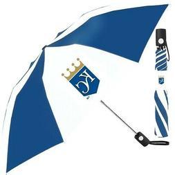 New McArthur Sports- MLB Auto Fold Umbrella Kansas City Roya