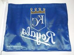 New MLB Kansas City Royals Baseball Car Flag Banner - Size:
