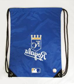 New MLB Team Kansas City ROYALS Back Pack/Sack Drawstring Gy