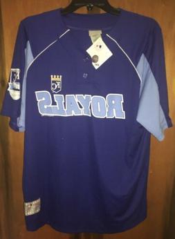 Nwt Men's Kansas City Royals Alex Gordon Jersey T-shirt. Blu