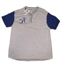 NWT Mens Majestic Kansas City Royals Jersey Shirt