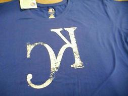 NWT Mens KANSAS CITY ROYALS Tshirt S/S MLB Baseball Genuine