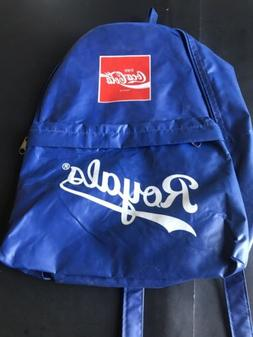 SGA Blue Plastic Kansas City Royals Kids Backpack - Coca Col