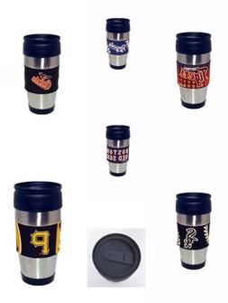 Stainless Steel 15 Ounce Travel Tumbler Cup Mug with PVC Wra