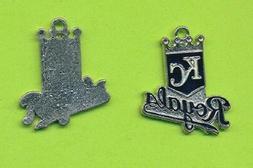 Stylish Kansas City Royals Dangle Charm  For Bracelet Neckla