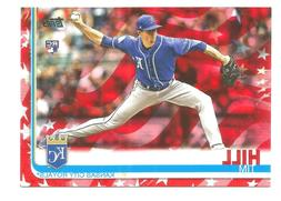 TIM HILL Kansas City  Royals TOPPS SERIES 2 INDEPENDENCE DAY