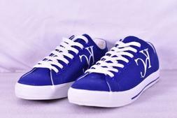 Unisex Row One MLB Kansas City Royals KC Logo Lace Up Shoes,